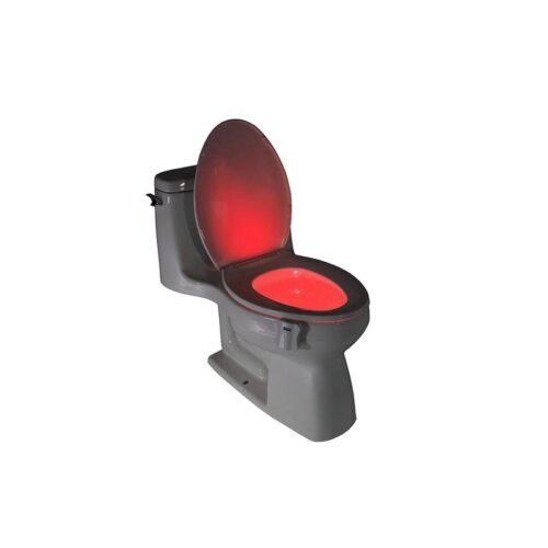 LED toiletbril verlichting